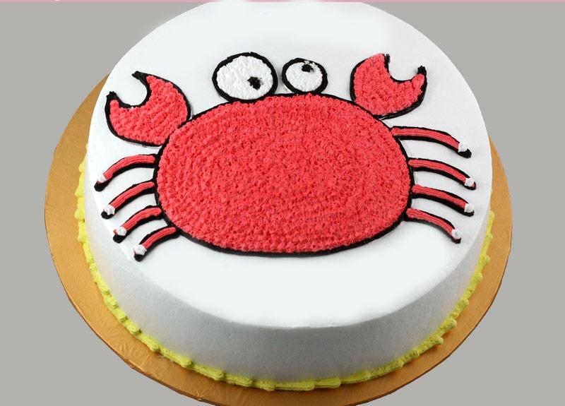 Các mẫu bánh chúc sinh nhật cung Cự Giải