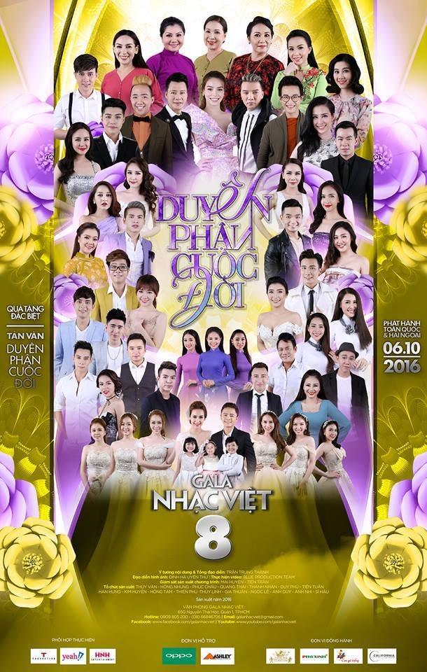 DVD Gala Nhạc Việt 8 - Duyên Phận Cuộc Đời 2016 2xDVD5