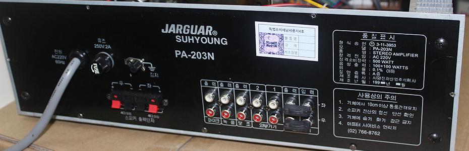 AMPLY Jaguar PA - 203N Hàng Korea mới 100% - GIÁ 4Tr - 10