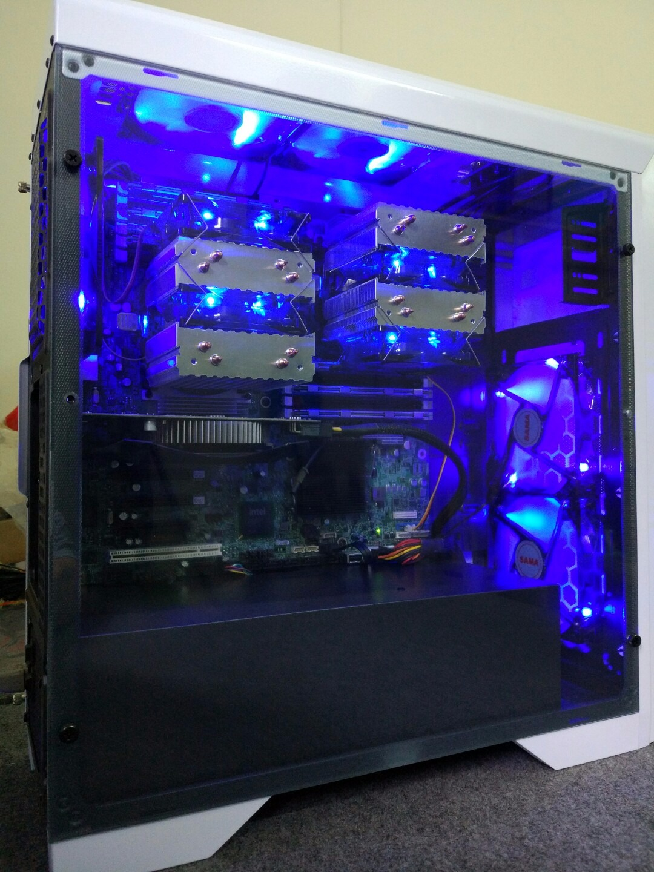 HN [HieuNangPC] Chuyên workstation dual cpu xeon socket 1366 2011