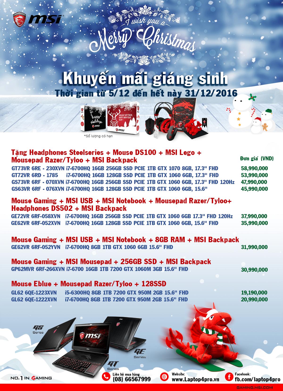 Khuyến mãi nhân dịp giáng sinh cùng MSI - 158560