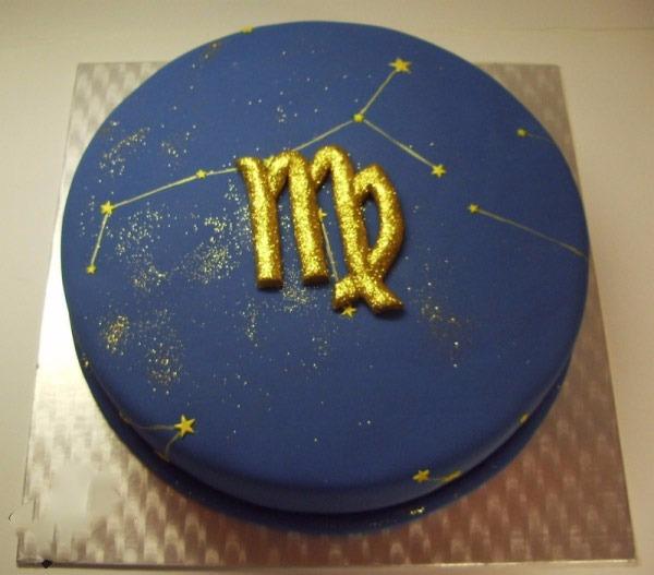 Các mẫu bánh chúc sinh nhật cung xử nữ