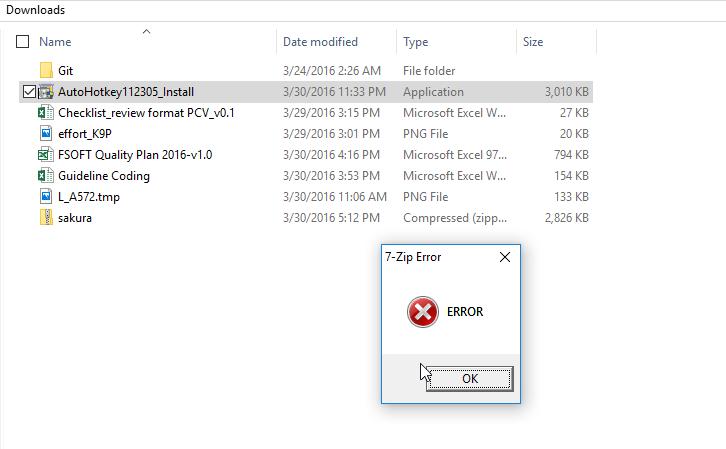 win 10 64bit: setup fail - AutoHotkey Community