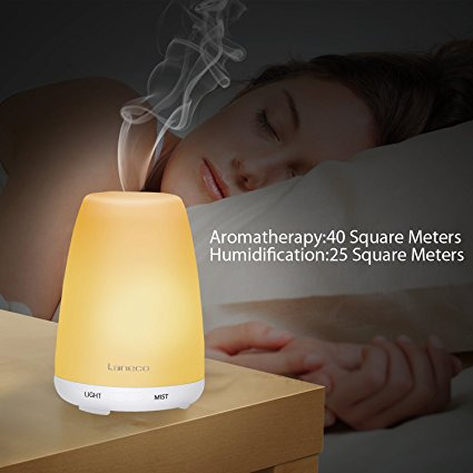 URPOWER 3rd version | Aroma Essential Oil Diffuser | Cool Mist Ultra-Sonic Humidifier