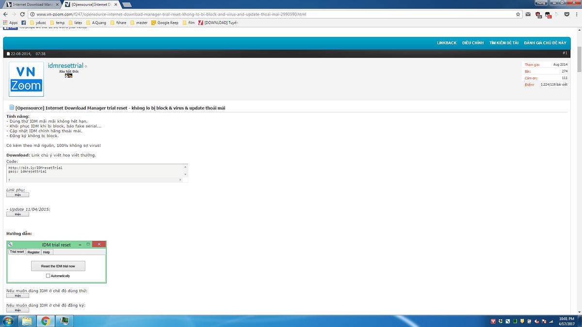 vozForums - Internet Download Manager (Mọi versions mới đều post vào