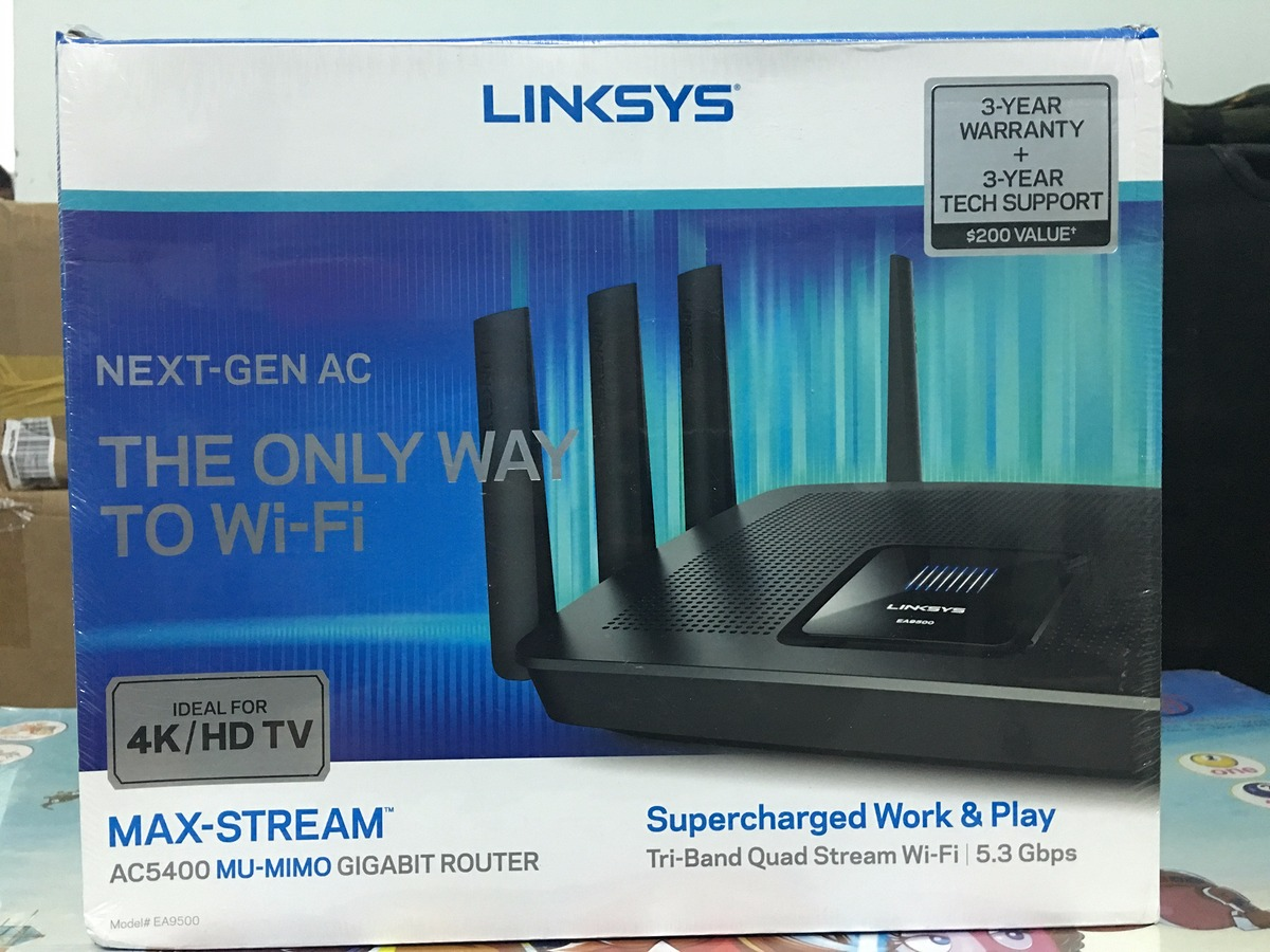 [wifiprovn.com]-WIFI ROUTER cao cấp LINKSYS, NETGEAR mới 100% - 4