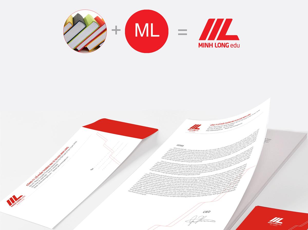 Thiết kế logo Minh Long
