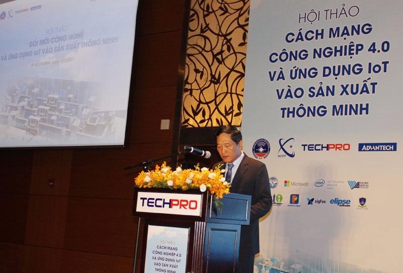 Hội thảo cách mạng công nghiệp 4.0 và Ứng dụng IoT vào sản xuất thông minh diễn ra tại TP HCM