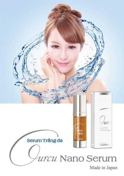 Curcu nano serum là thương hiệu mỹ phẩm cao cấp Nhật Bản được ưa chuộng ở Việt Nam