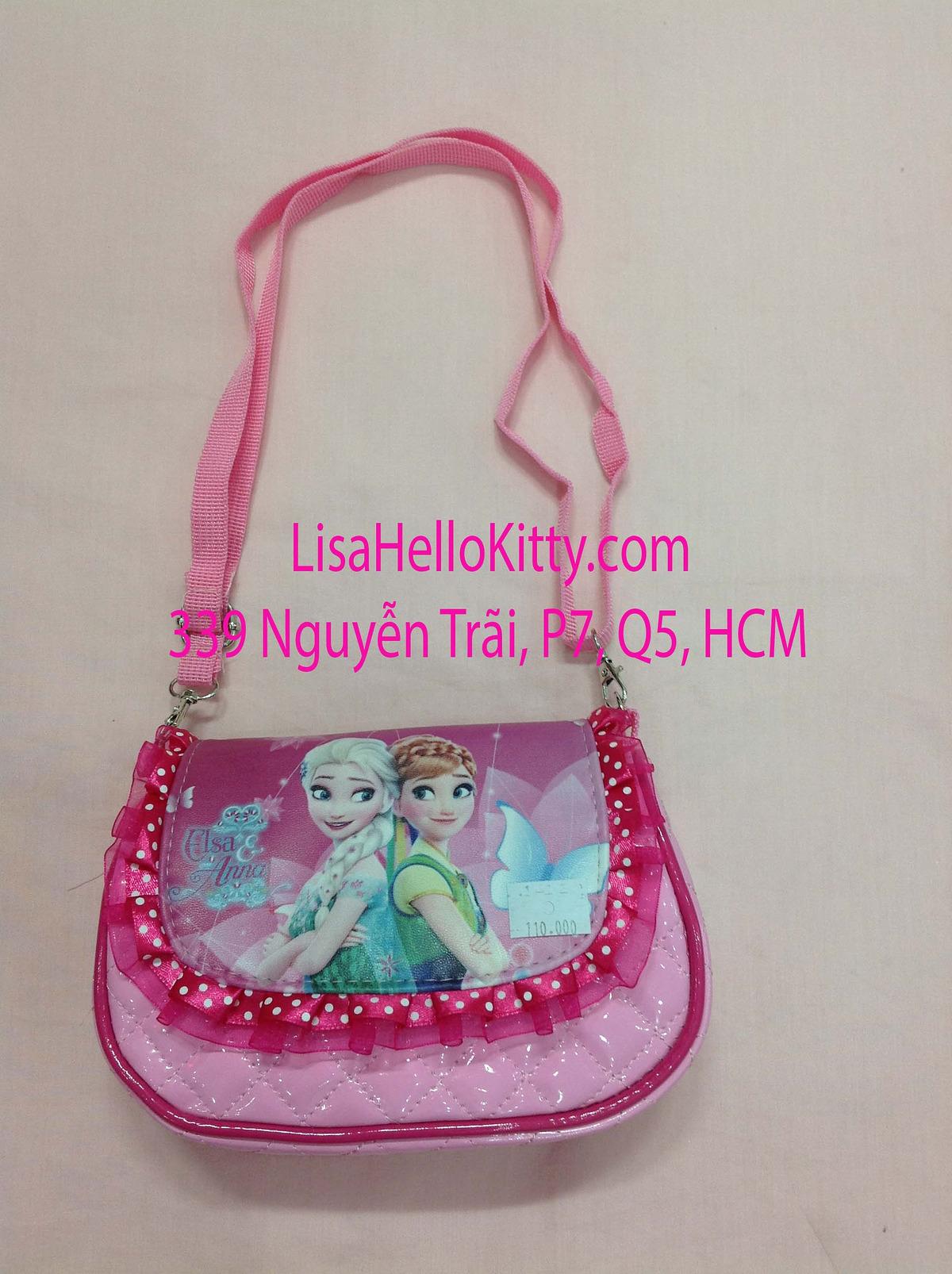Lisa Shop - Túi xách, túi đeo chéo Hello Kitty công chúa Elsa cho bé - 4