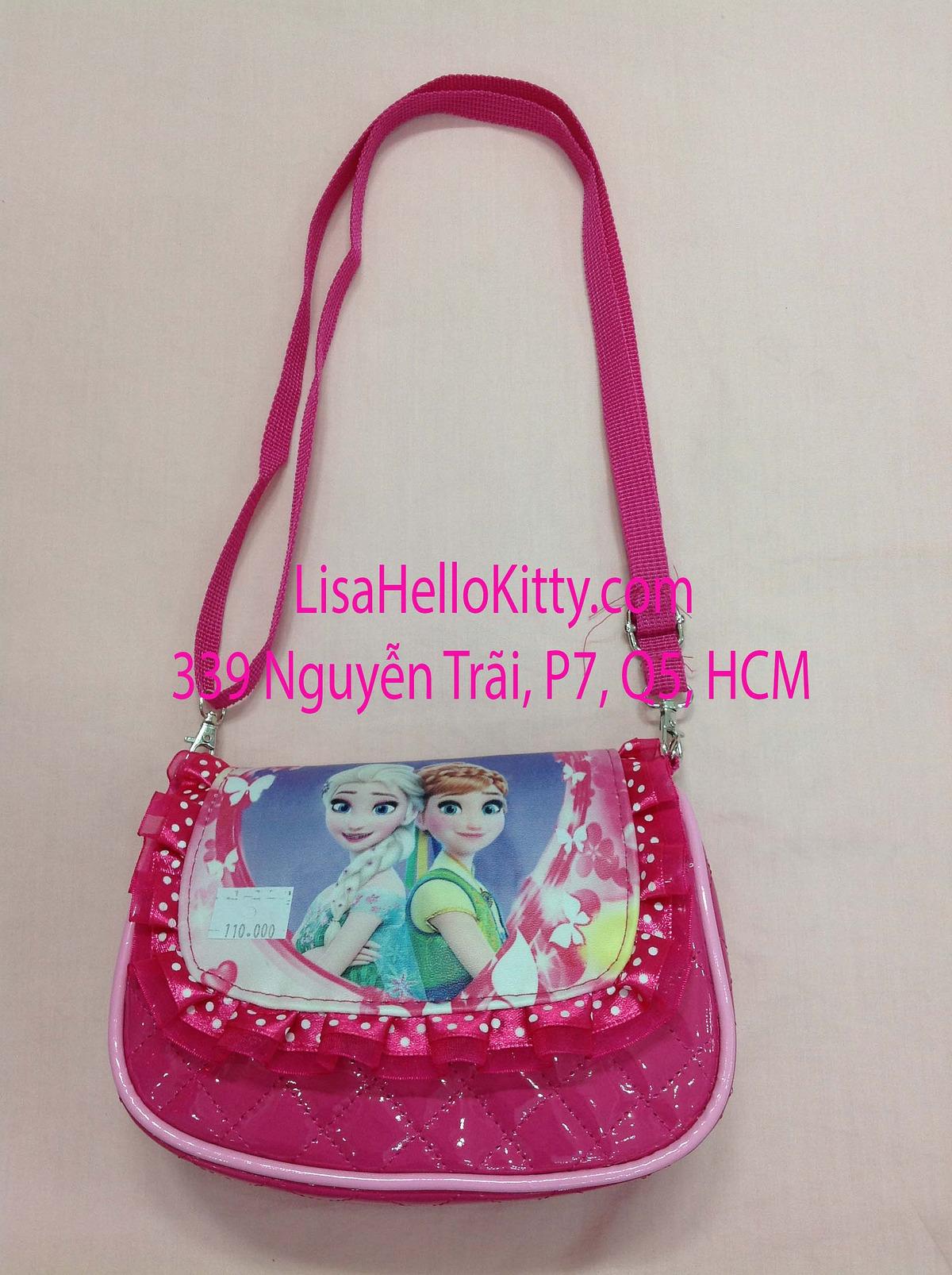 Lisa Shop - Túi xách, túi đeo chéo Hello Kitty công chúa Elsa cho bé