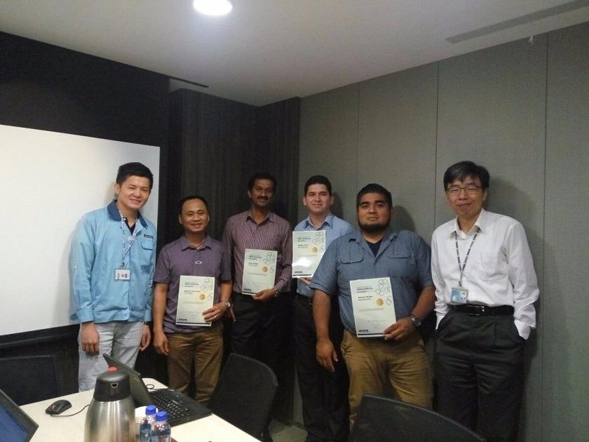 TECHPRO Tham gia khóa học về thực hành bảo hành thiết bị Advantech level 2