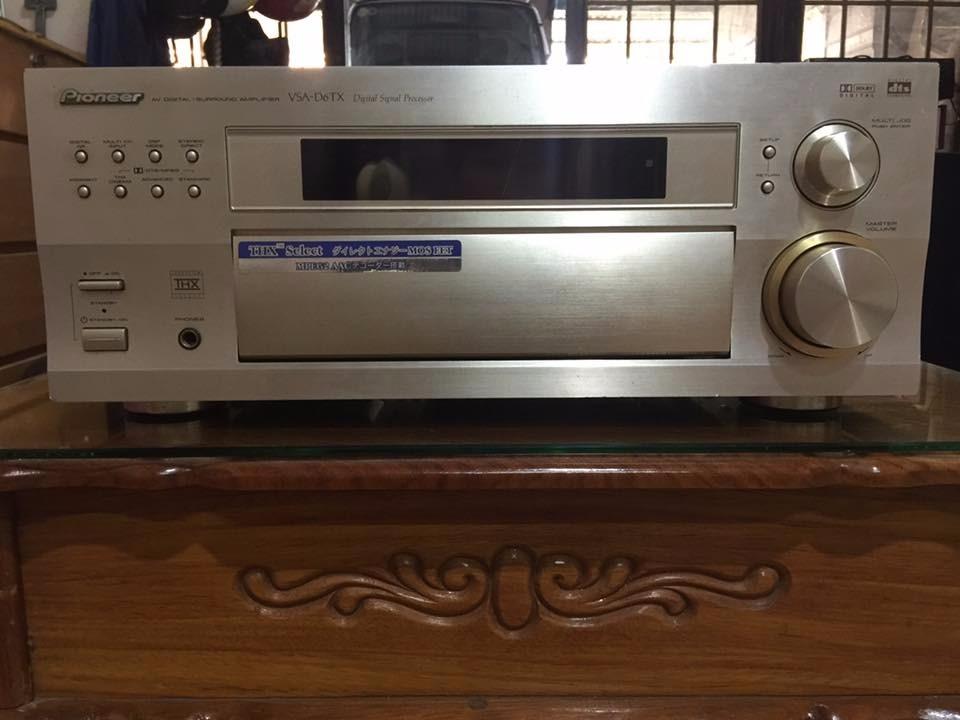 Ampli Đèn Eico St-40 - Ampli Pioneer Vsa-d6tx - Ampli Trio Ka-8100 - Ampli Harman Kardon Pm645 Vxi