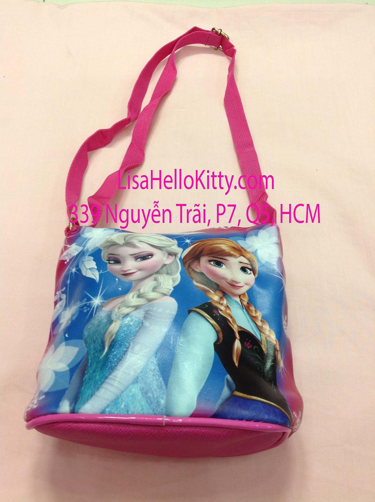 Lisa Shop - Túi xách, túi đeo chéo Hello Kitty công chúa Elsa cho bé - 12