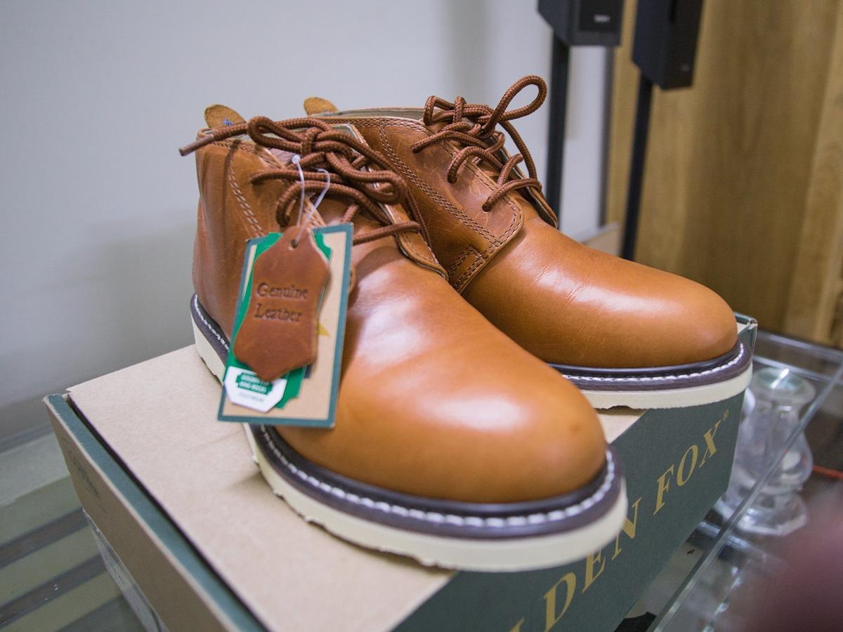 [TP HCM] Golden Fox Arizona Chukka Boots - Boots da nhập khẩu cực đẹp - 1
