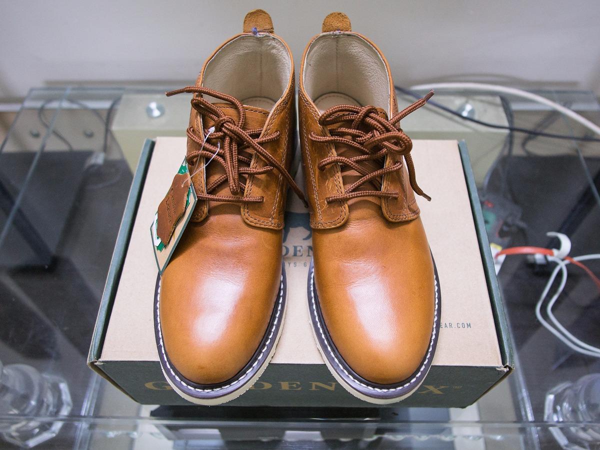[TP HCM] Golden Fox Arizona Chukka Boots - Boots da nhập khẩu cực đẹp
