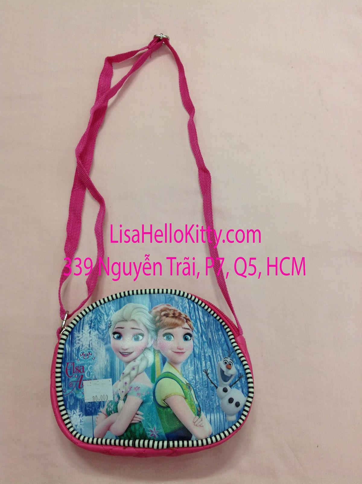 Lisa Shop - Túi xách, túi đeo chéo Hello Kitty công chúa Elsa cho bé - 8
