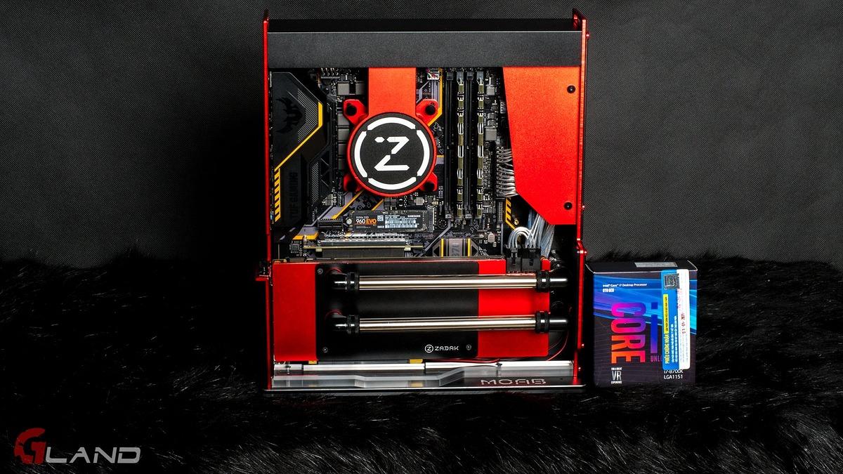 ZADAK PC GAMING MOAB (RED)