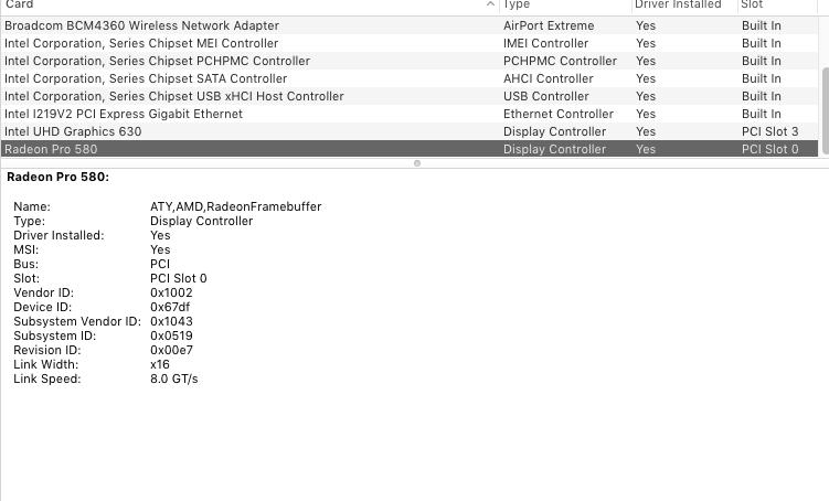 Fix Vram AMD RX 580 - The Real Vanilla Hackintosh - Tutorials