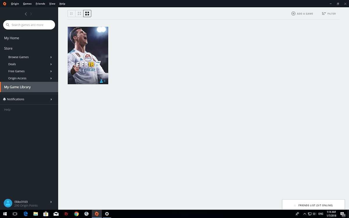 Sell Bán acc FIFA 18 = 500k