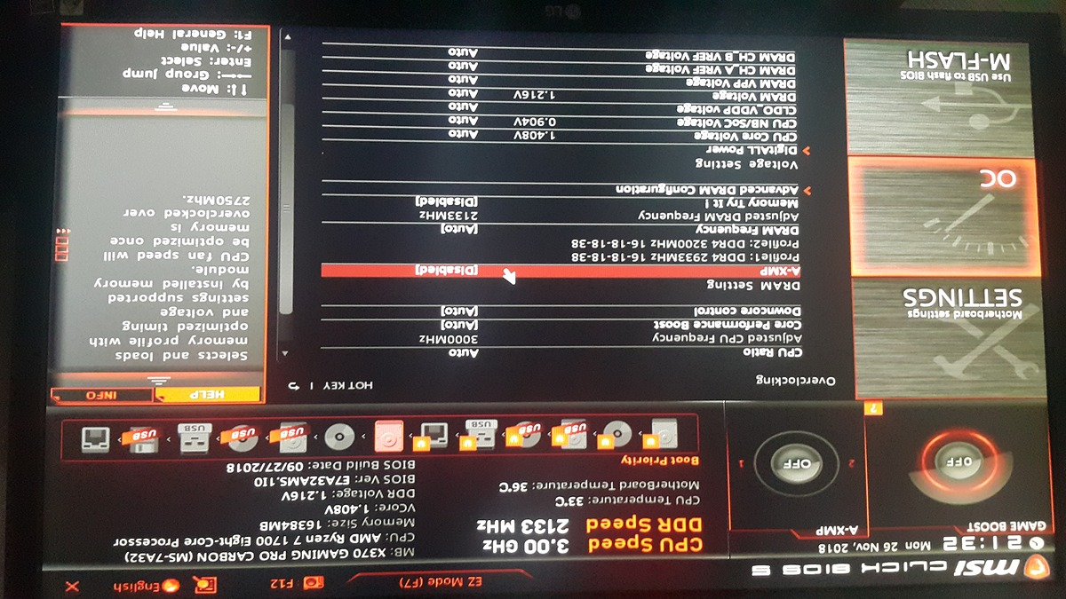 Vcore của ryzen 1700 để auto nó nhảy lên 1 4v!! - vozForums