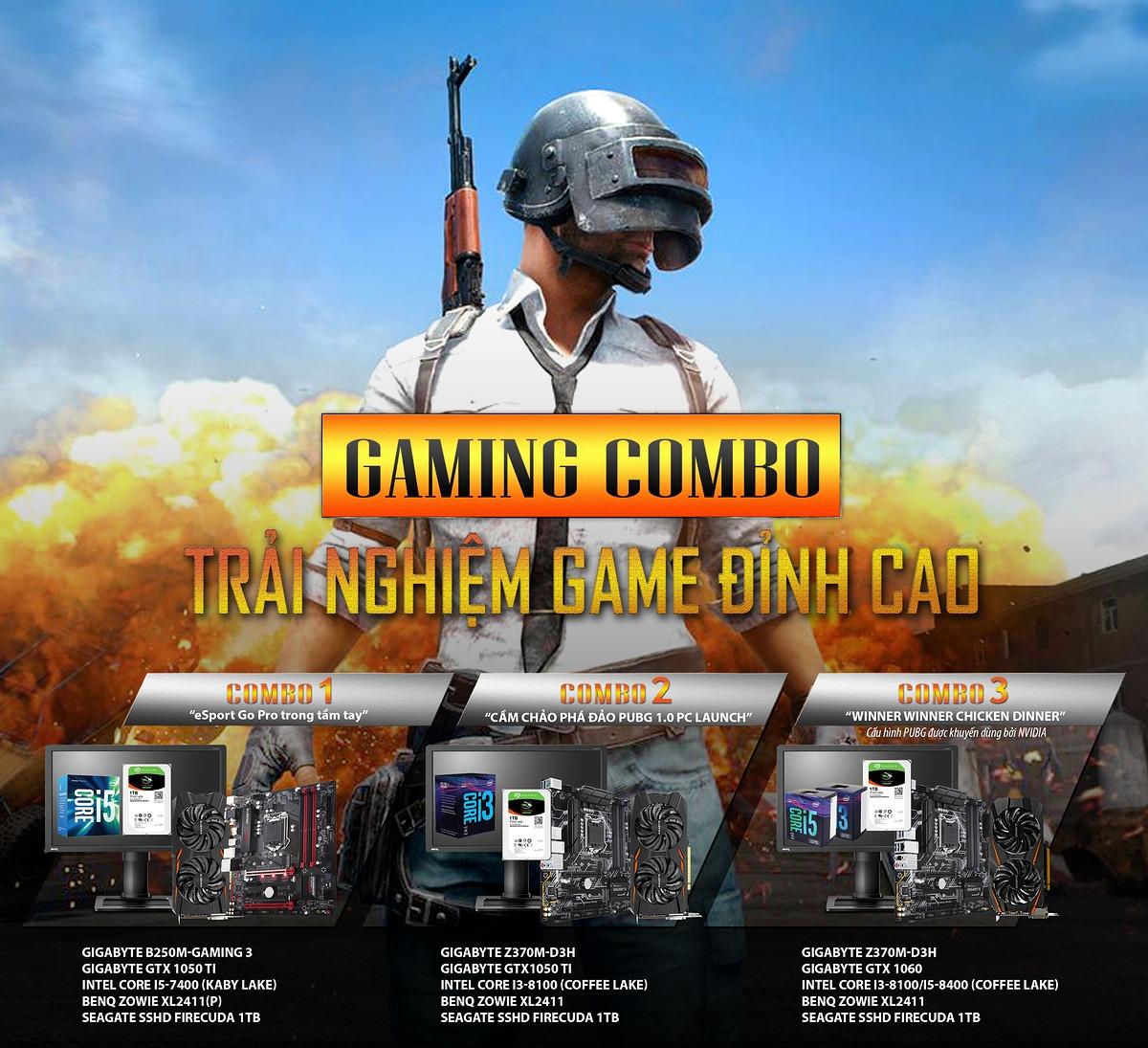 Gợi ý cấu hình chơi game PUBG phù hợp nhất