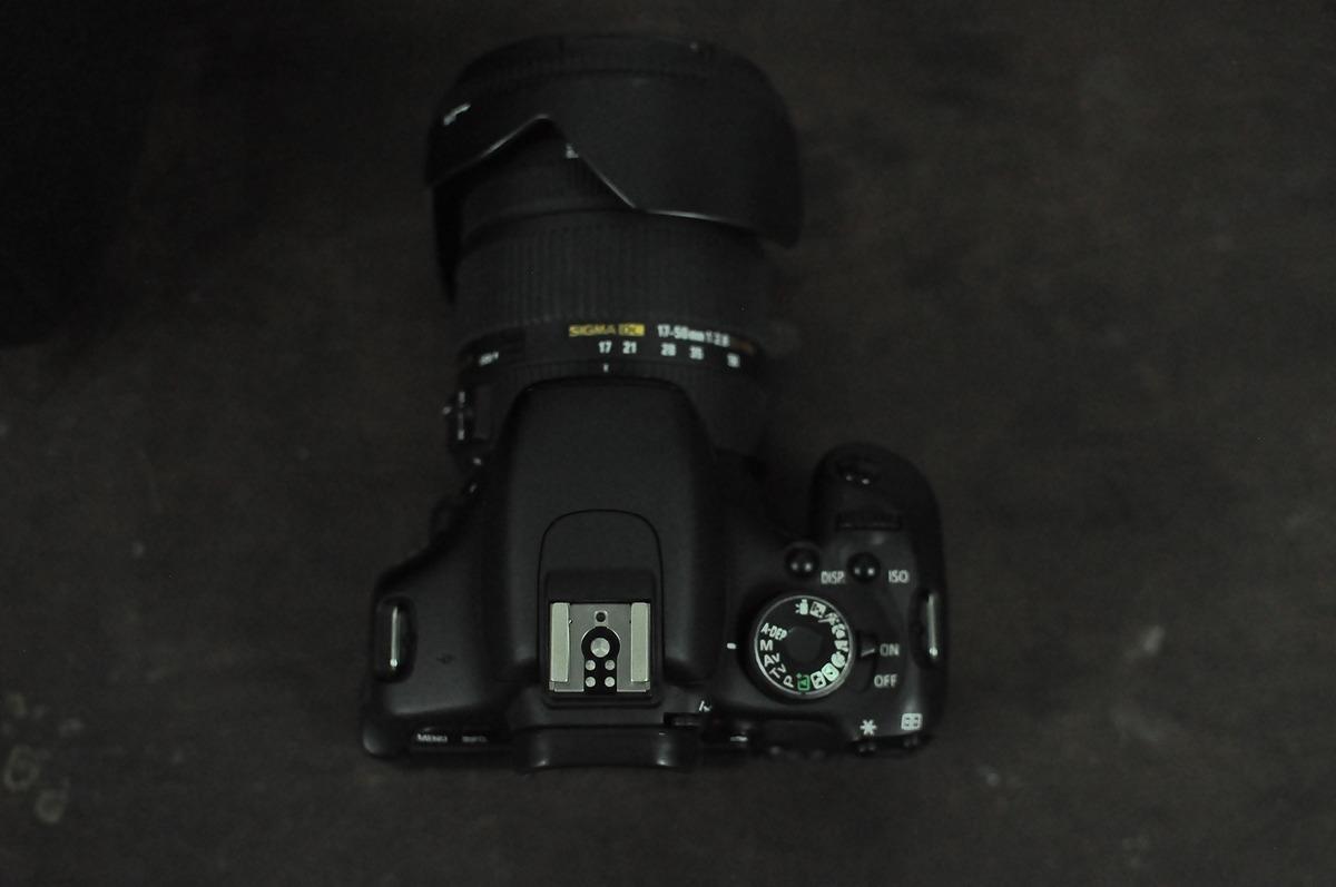 Bán máy ảnh 600D canon + sigma 17-50 98% - 2