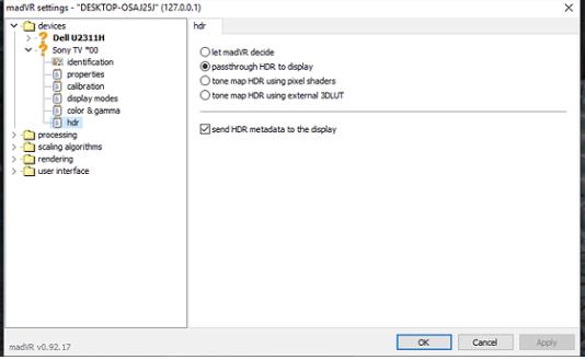 decode 4k HDR 1 số thắc mắc ? - Page 5 - vozForums