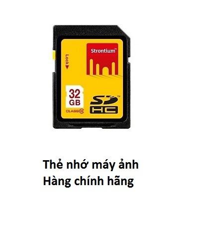 Thẻ nhớ máy ảnh Strontium 32gb SDHC giá chỉ 99k bh 5 năm Anh Ngọc