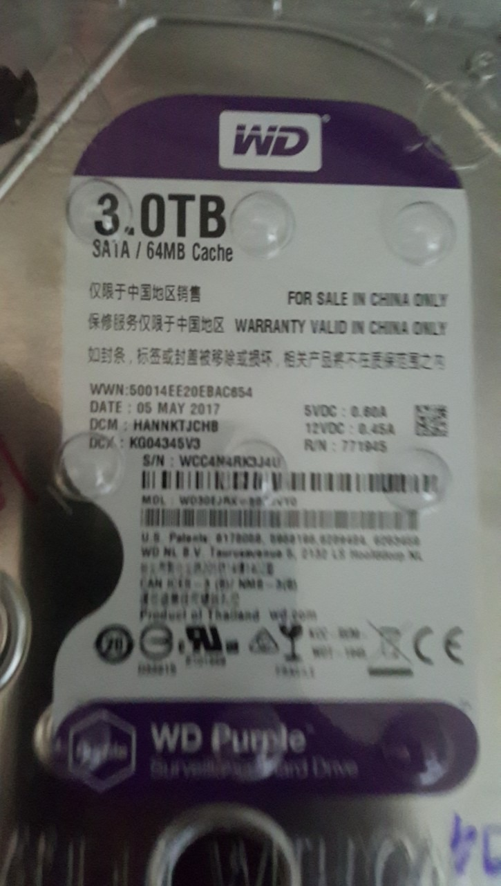 Bán vài em HDD từ 1TB đến 8TB hiệu WD, Toshiba. - 4
