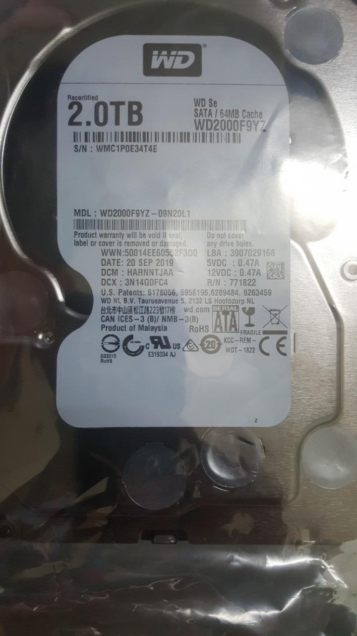 Bán vài em HDD từ 1TB đến 8TB hiệu WD, Toshiba. - 9