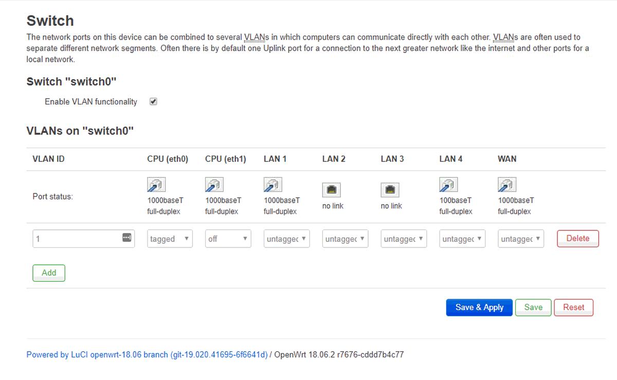Giúp đỡ] Chỉnh VLAN trên dump router openwrt để xem IPTV - vozForums
