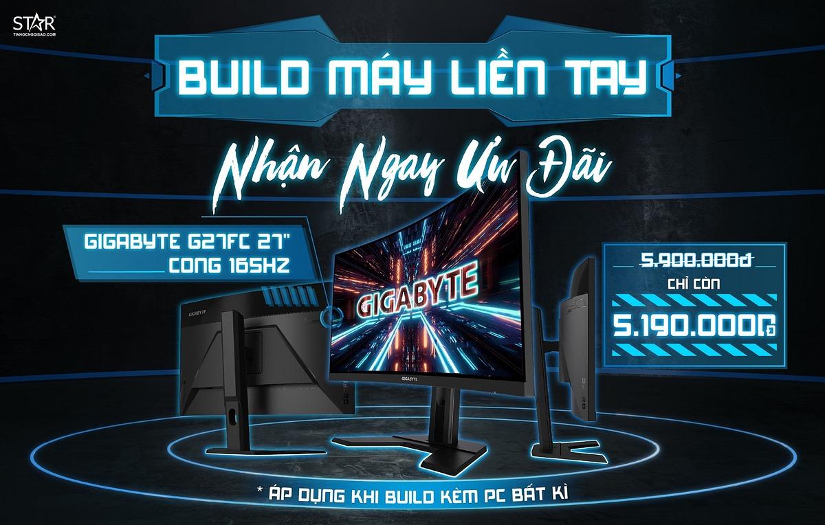 BUILD MÁY LIỂN TAY - NHẬN NGAY ƯU ĐÃI