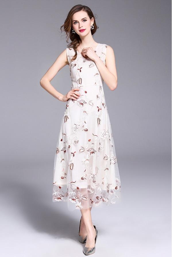 Váy đầm dự tiệc sang trọng - Độc đáo - Giá cả hợp lý VD15