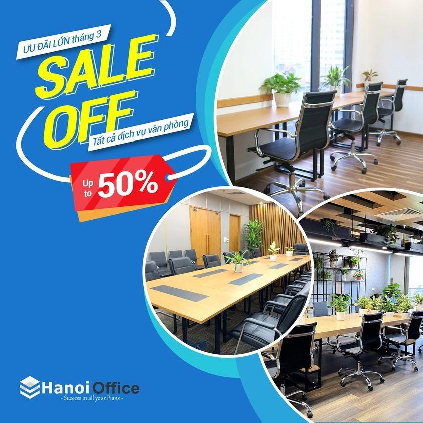 Văn phòng chia sẻ Hanoi Office chỉ từ 650.000VNĐ/tháng